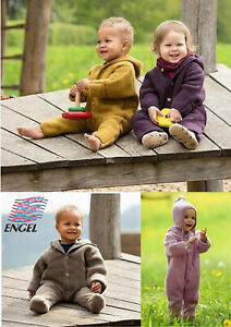 ENGEL Baby Overall Wollfleece 100% Wolle GOTS 50/56 62/68 74/80 86/92