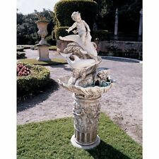 KY21065 -Young Poseidon Classical Italian inspired Sculptural Fountain w/Pump!