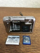 Olympus Stylus Tough 8010 5.0-25.0mm 1:3.9-5.9 Point Shoot Camera