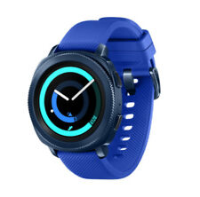 2017 Samsung Galaxy Gear Sport Sm-r600 Bluetooth Fitness Smart Watch Blue