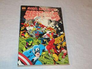 Marvel Super Heroes Secret Wars (1992) Complete Series TPB 1st Printing