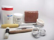 Delft Clay Sand Deluxe Casting Kit Crucible Borax Powder Gold Silver Copper