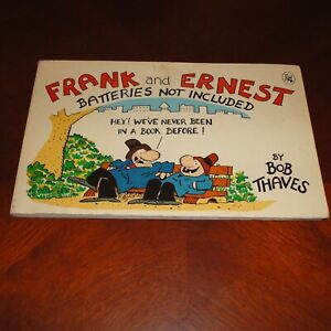 Frank and Ernest: Batteries Not Included by Bob Thaves 1983 Comic Strips Book