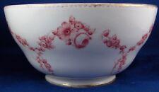 Antique 18thC Sevres Porcelain Floral Soft Paste Slop Bowl Dish Porzellan Schale