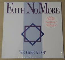 FAITH NO MORE - We Care A Lot - 1 LP Ltd. Ed. WHITE VINYL - NEW!