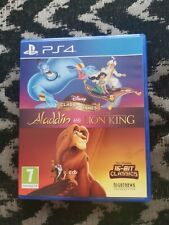 Disney Classic Games: Aladdin and The Lion King (PlayStation 4, 2019)