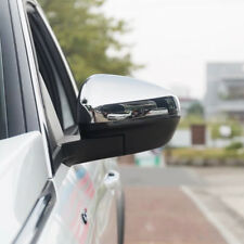 Chrome Car Exterior Side Mirrors Glossy Covers For 2017 2018 Peugeot 3008 5008