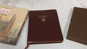 NRSV Cambridge Bible, Wide Margin Minister Text, Burgundy Bonded Leather NRWM12