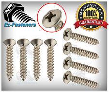 "Sheet Metal Screws Oval Head Phillips Drive self tapping SS 10 x 1"" Qty 100"