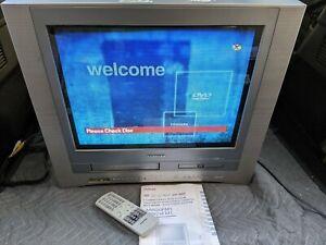 "Toshiba MW20FM1 20"" CRT TV VCR DVD COMBO RETRO GAMING - DVD NOT WORKING"