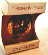 """Heavenly Peace"" Schmid Glass Ornament by Ferrandiz 1978 1st L.E.Series orig box"