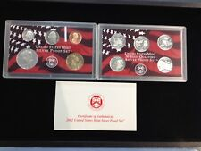 2002-S Complete SILVER Proof Set w Box and COA