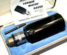Waters Torque Watch Gauge 150 100 In Oz Model 940 2