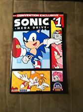 SONIC:MEGA DRIVE #1 2016 NEW YORK COMIC CON EXCLUSIVE !