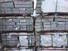 """Granit Steelen, allseititg gestockt, """"Douro""""-hellgrau, 8 x 20 x 50 cm"""