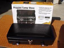 STANSPORT 2-BURNER REGULATED PROPANE CAMP STOVE MODEL 203-93 NEVER USED NEW NIB