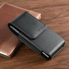 For Samsung Galaxy Note 9 Large PU Leather Vertical Case Cover Pouch Belt Clip
