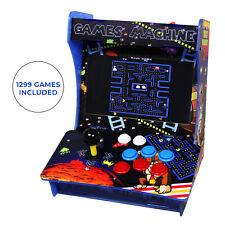 Classic Arcade Machine Table Bartop Retro Gaming Cabinet Pandora 5S 1299 Games