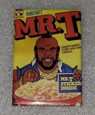 "Mr T Cereal A team Refrigerator Magnet 2"" by 3"" fridge"