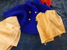 pour poupée poupon bella raynal  60cm manteau et chemisette +une offerte