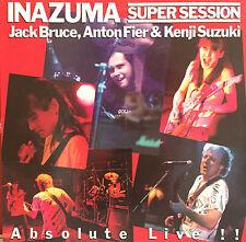 JACK BRUCE, ANTON FIER, KENJI SUZUKI Inazuma Super Session LP. RARE