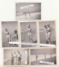 6 Foto 2 Wk WWII nackte Soldaten als Frau verkleidet Atlantik 1944 gay naked !
