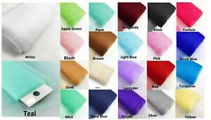 "Tulle 54"" x 120ft (40 Yard) Tutu Fabric Bolt Bridal Party Wedding Decoration"