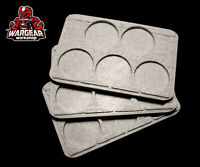 The Walking Dead: Call to Arms 3D Printed Walker Herd Bases 3-PACK