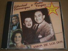 Amor De Los Dos Libertad Lamarque Pedro Vargas~RARE 1987 Latin Bolero CD~FAST!!!