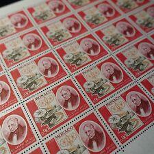FEUILLE SHEET MONACO N°928 x30 SIR GEORGES CALEY / AVIATION 1973 NEUF ** MNH
