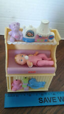 fisher price dollhouse lights & sounds changing table & baby
