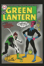 Vintage Art DC Comics SIGNED Joe Giella Art Post Card Green Lantern #18 SINESTRO