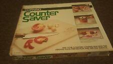 "CORNING Portable Counter Saver 12""x15"" Forest Fancies Mushroom Glass/C-15 Series"
