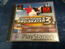 Videogame Platinum Tony Hawk's Pro Skater 3 Playstation 1 PSX PSONE NEW & SEALED
