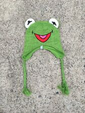 Kermit The Frog Winter Hat Beanie The Muppets