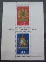 BRD Bund Briefmarken 1973 Block 9 Philatelisten Kongress IBRA Postfrisch