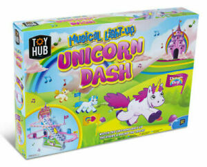Unicorn Dash Light Up Musical Unicorn Race Track Girls Christmas Gift Toy Game
