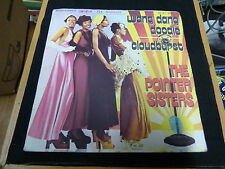 the pointer sisters : wang dang doodle - cloudburst - Blue Thumb records 3053