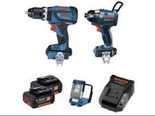 Bosch Blue 18V Brushless 3 Piece Combo Kit 2 x 3.0Ah battery & fast charger incl