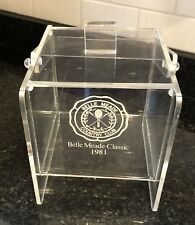 Bread Box Belle Meade Country Club 1981 Classic Golf Tennis Nashville Tennessee