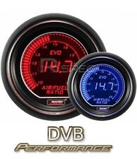 Prosport 52mm EVO Car Air Fuel Ratio AFR LCD Digital Display Red Blue