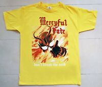 MERCYFUL FATE DON'T BREAK THE OATH'84 YELLOW T-SHIRT