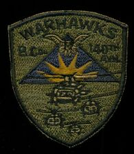 US Army B Co 149th Aviation Warhawks Patch S-22