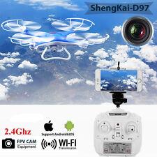 DRONE SHENGKAI D97 Quadcopter Con Telecamera Trasmittetore Elicotteri Blu