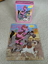 Vintage Whitman Pink Panther Puzzle 99 Pieces Pre-owned 1980 Complete
