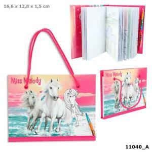 Miss Melody Malbuch mit Steckbuntstift 11040_A