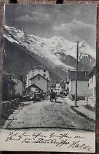 29517 CPA Chamonix et le Mont-Blanc 1907 alte Postkarte AK