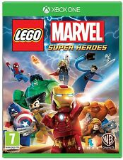 LEGO Marvel Super Heroes Xbox One Brand New Factory Sealed