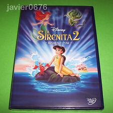 LA SIRENITA 2 REGRESO AL MAR DISNEY DVD NUEVO Y PRECINTADO