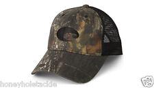 BRAND NEW COSTA DEL MAR MESH ADJUSTABLE CAP HAT  CAMO AND BLACK